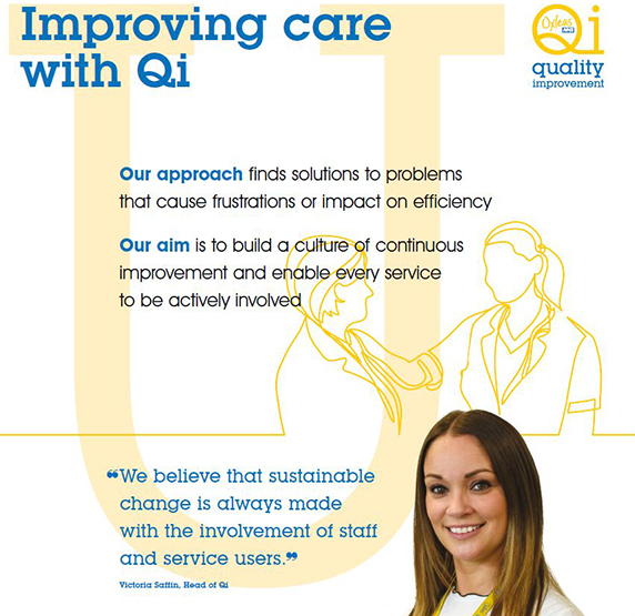 Improve lives with #Qi. Find out how our staff use and embed #QualityImprovement to improve our services across @OxleasNHS. Read more about what we've done so far: oxleas.nhs.uk/about-us/quali…