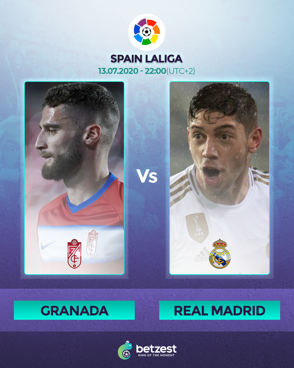 Real Madrid are looking to take another huge step towards winning La Liga when they  face Granada Tonight   Share your match predictions for a chance to win 5€/$ Free Bets #Apuestas #sportbet #sporbook #highodds #odds #bet #sportsbook #mobilebetting #bettingoddspic.twitter.com/aoxMNHombG