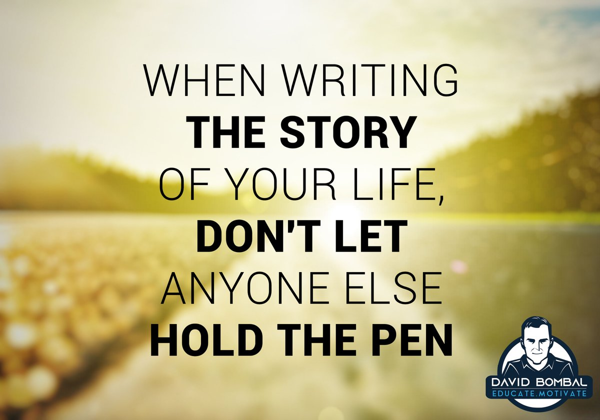 When writing the story of your life, don't let anyone else hold the pen.  #motivationquotes #dailymotivation #ccna #inspirationalquote #cisco pic.twitter.com/glqPOUUUcl