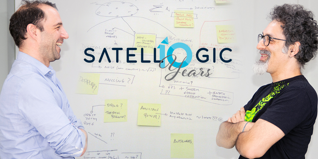 """Happy birthday to us! Today, 10 years ago, this very first """"Satellogic blueprint"""" was created by @earlkman. And we are very proud to continue to build the company that we dreamed of a decade ago. #satellogic10years https://t.co/sJLe7DUASI"""