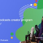 Image for the Tweet beginning: 🎙️Calling all podcasters!  Applications are now