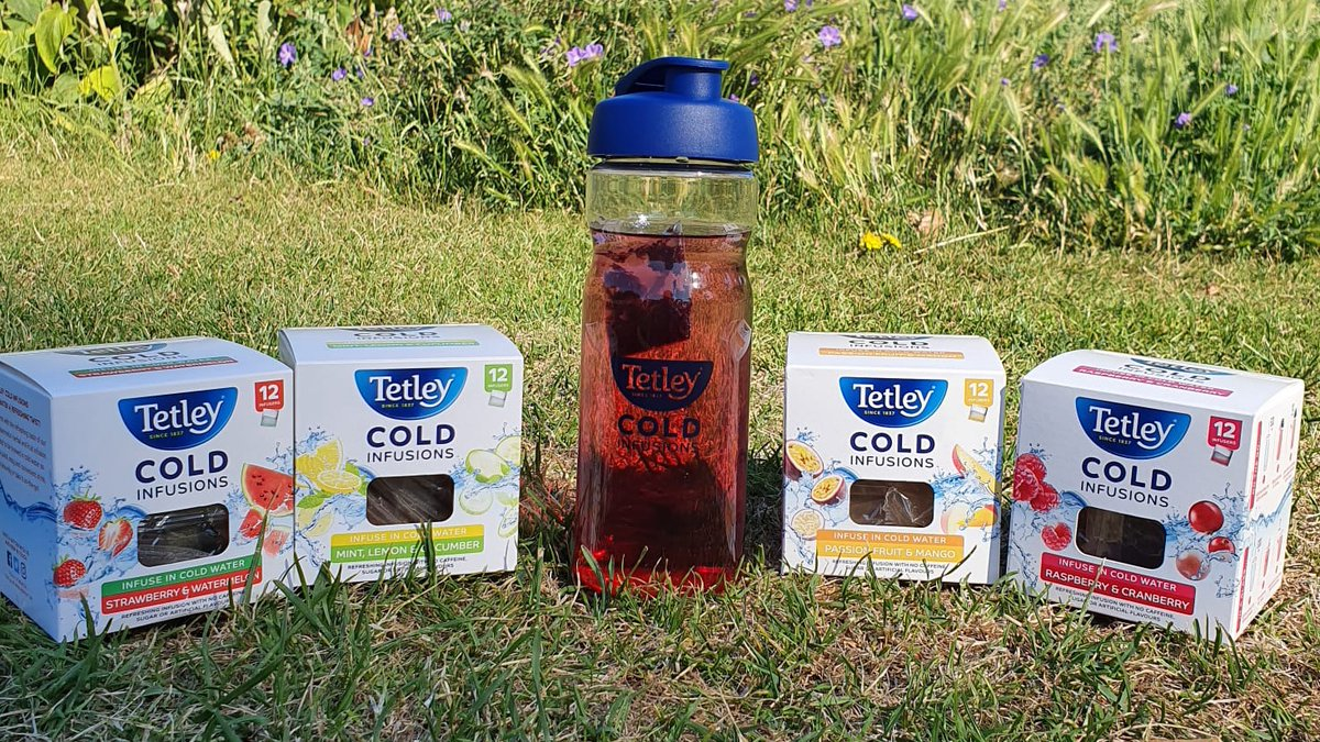 Enjoy a taste of Summer with every sip. #TetleyColdInfusions https://t.co/pGowGk0Ptd