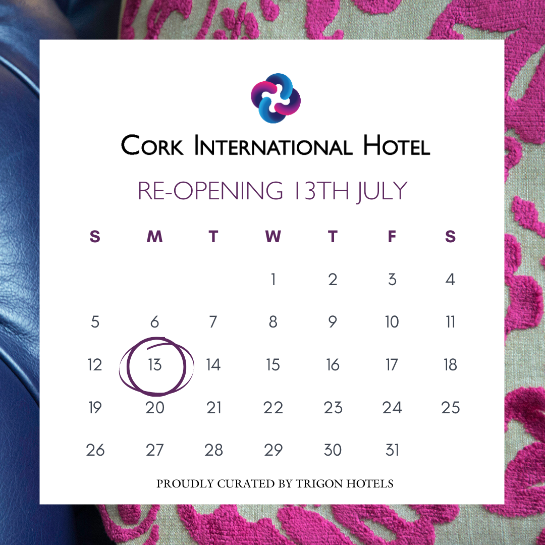 Today's the day! We're so excited to welcome back our guests. We look forward to seeing you all  #purecorkwelcomes #welcomebackcork  @yaycork @OnTheQTie @BestofCork https://t.co/YsZnnV1N7G