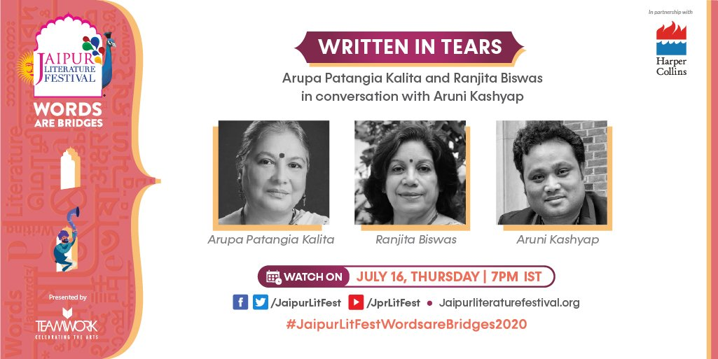In conversation with her translator Ranjita Biswas, alongside author Aruni Kashyap, acclaimed Assamese writer Arupa Patangia Kalita speaks about the overpowering beauty of the landscape of Assam, the conflict that scarred it, and the role of the writer in fraught times. https://t.co/JpQqFxD3og