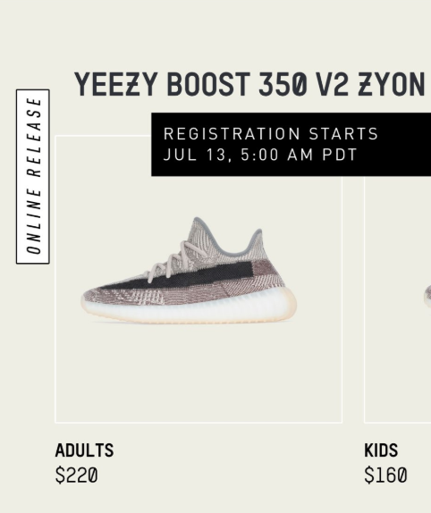 adidas Yeezy Boost 350 V2 'Zyon
