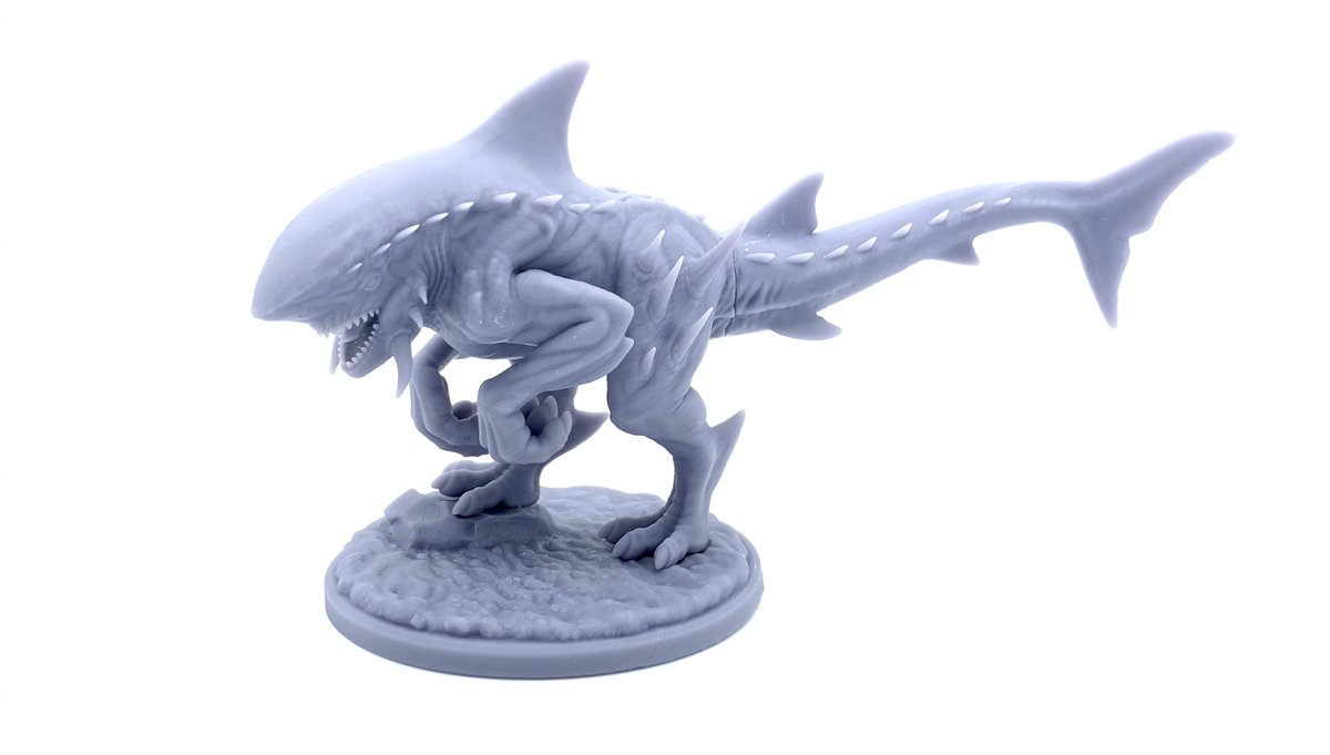 How are your prints turning out? We'd love to see them! - - - #dragontrapperslodge #miniatures #miniaturepainting #tabletopgames #tabletoprpg #dnd #dungeonsanddragons #miniature #dungeonmaster #3dprinting #ender3 #lodge #3dprintable #stl #3dprint #sharkasaurus #3dprinted https://t.co/45533SlQaq