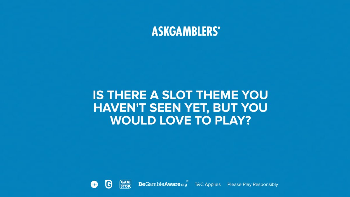 Share your ideas, and you never know, they just might become a reality. 👇  #AskGamblers #GetTheTruth #AGcommunity #playsafe #slotgames #bestslotgames #bestslots #slots #onlinegames #igaming #casinos #onlinecasinos  #casinogames https://t.co/Zg8cYpEYbK