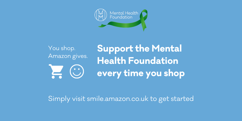 🛒 You shop. Amazon donates. 💚 Support the Mental Health Foundation every time you shop.  😃AmazonSmile is the same Amazon you know. Same products, same prices, same service.   🛍️ Start your shopping now at  and raise money for @mentalhealth   👉 https://t.co/pfMRzR8MXH https://t.co/vkyg9TFqUs