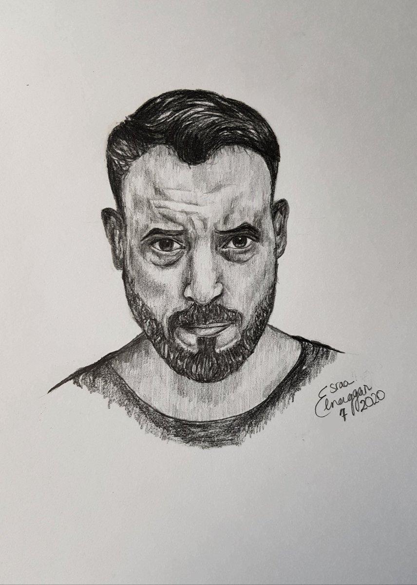 My sketch for @ElSherif ❤❤ #TheEnd  #النهاية https://t.co/N50MH4vzT5
