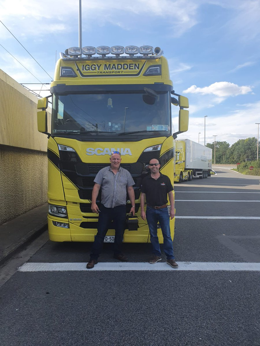 Please would you send a big Thankyou to our heros from Iggy Madden. They got us back on the road and we are so incredibly grateful. The two gentlemen in the picture were so helpful and kind. Thankyou #iggymadden email info@iggymaddentransport.com #dogbus