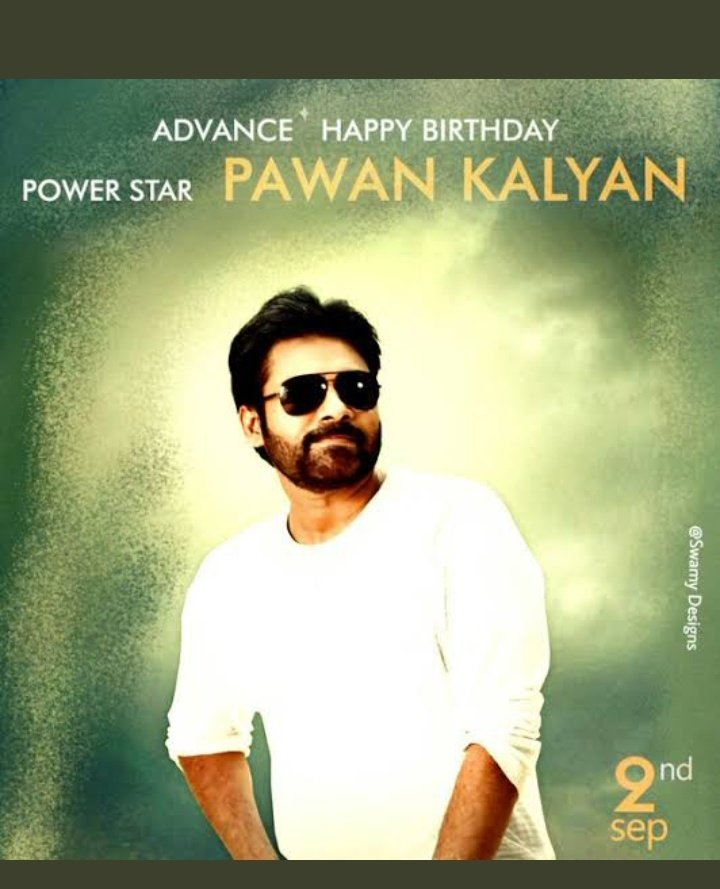 #AdvanceHBDPawanKalyan #Tollywood . King of south INDIAN film's..... pic.twitter.com/igEs1EviG4