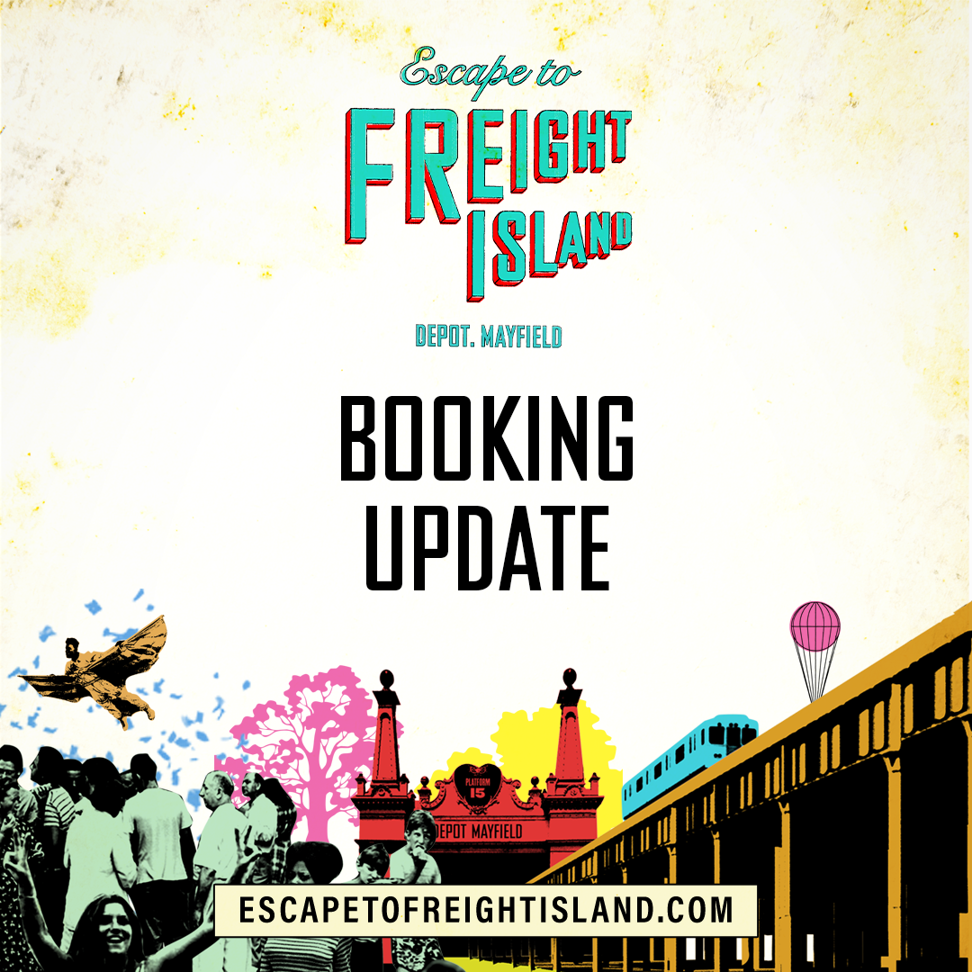 After an overwhelming response last week, more tables for Platform 15 are now available. These spaces are very limited and won't hang around for long. Head to our website below to book and explore what's on offer ⤵️ escapetofreightisland.com/bookings
