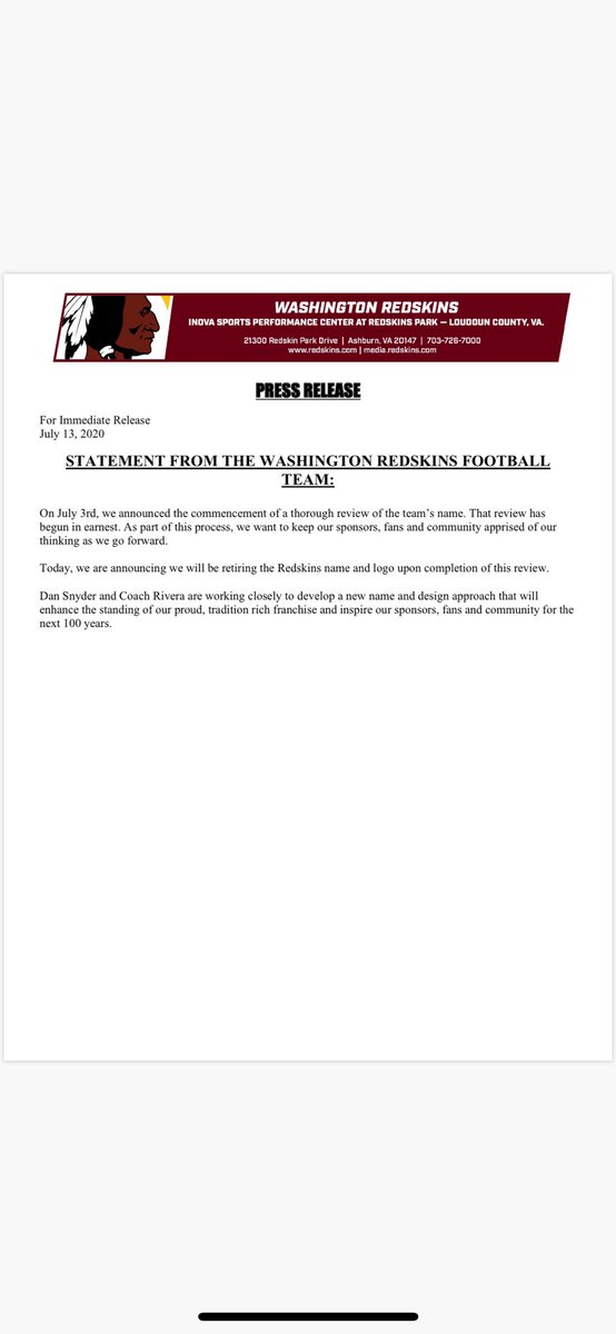 Now official: