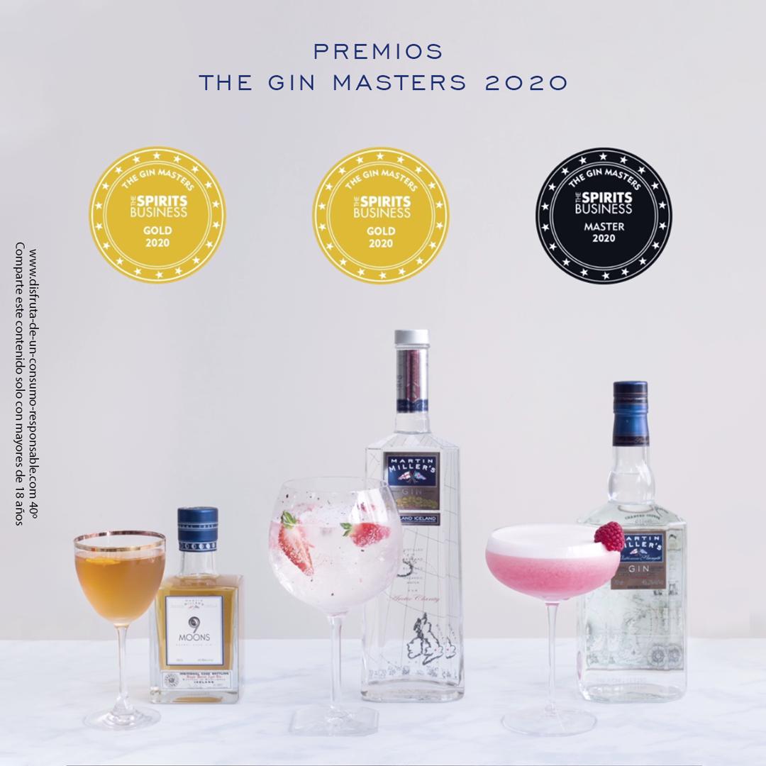 """Estamos muy orgullosos de comunicaros que #MartinMillersGin ha recibido tres nuevos reconocimientos (dos medallas de Oro y una medalla Máster) en el """"Spirits Business Gin Masters"""" de 2020.  ¡Gracias por hacerlo posible! https://t.co/5di5xtpi51"""
