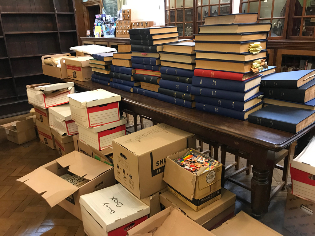 This is how our archives look at the moment, as weve received every copy of the @BoyzMagazine since 1991 as well as the magazines photo archive 😲 We cant wait to rummage through copies of this London-based LGBTQ+ magazine 🏳️🌈 Whos picked up a copy before?