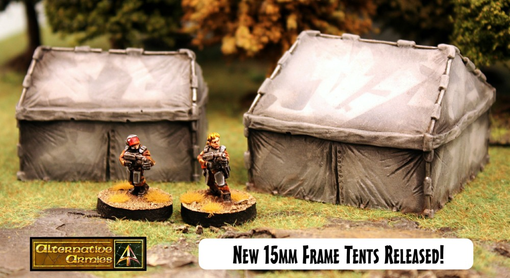 New Modern Tents 15mm scale now released!  https://t.co/rfq7YtNDFm  #wargames #tabletopgaming  @gavinbsyme https://t.co/qELhJc8GDH