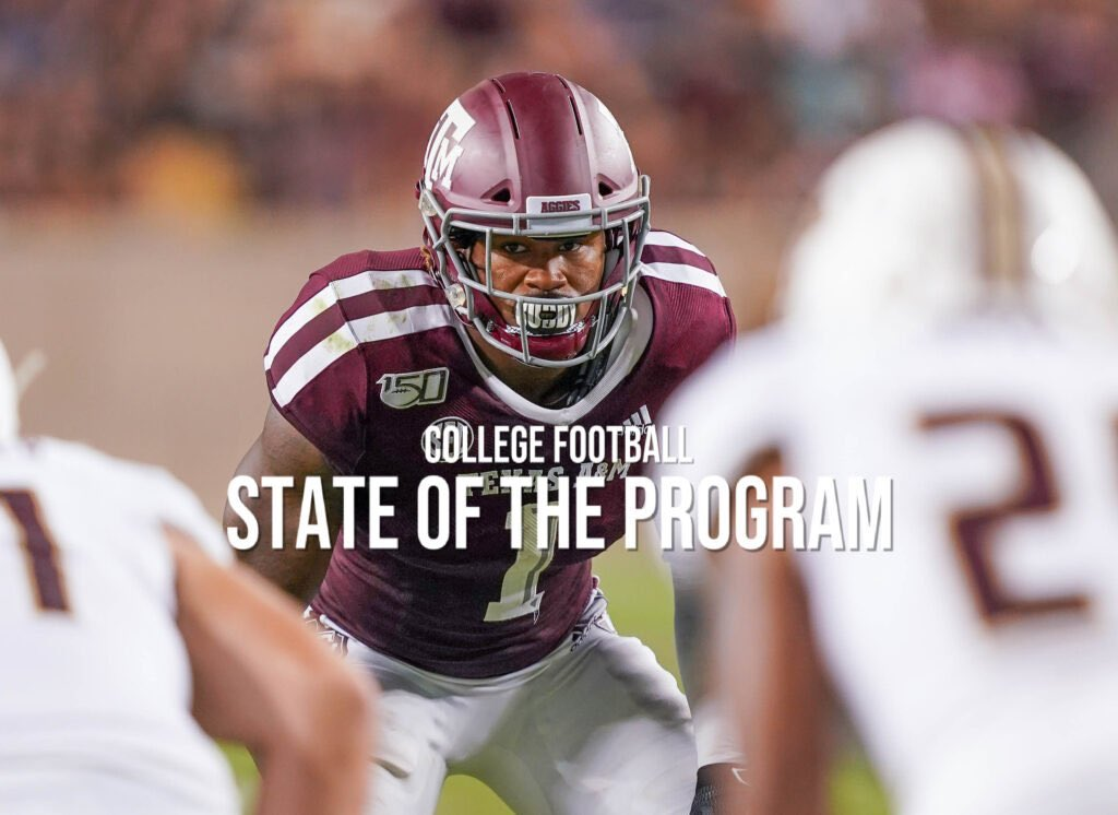 STATE OF THE PROGRAM: Texas A&M  This season was supposed to be the one when we really found out how the Jimbo Fisher era would go in College Station.  It still might be, but that could depend on when and how it gets played. https://t.co/4piXhLWCku https://t.co/ihiM0GEI6y