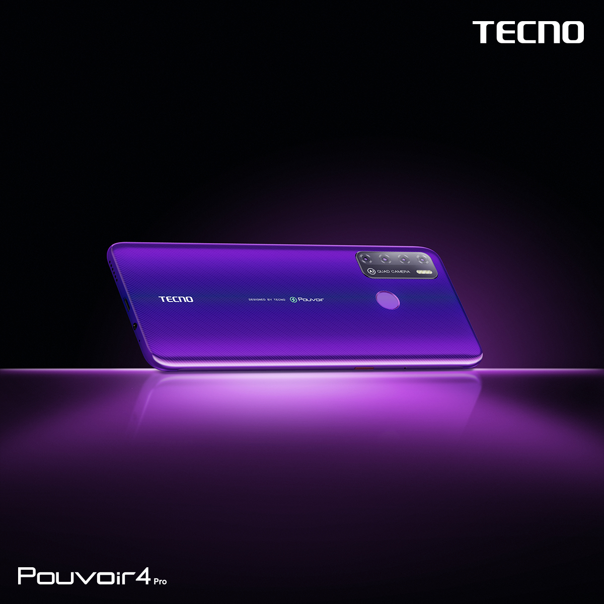 Make royalty your identity with the Pouvoir 4 Pro in Fascinating purple! Get this amazing device for 909 cedis in all accredited Tecno shops nationwide. #Pouvoir4 #AlwaysPowerOn #TecnoGhana https://t.co/EwapQA0LKF