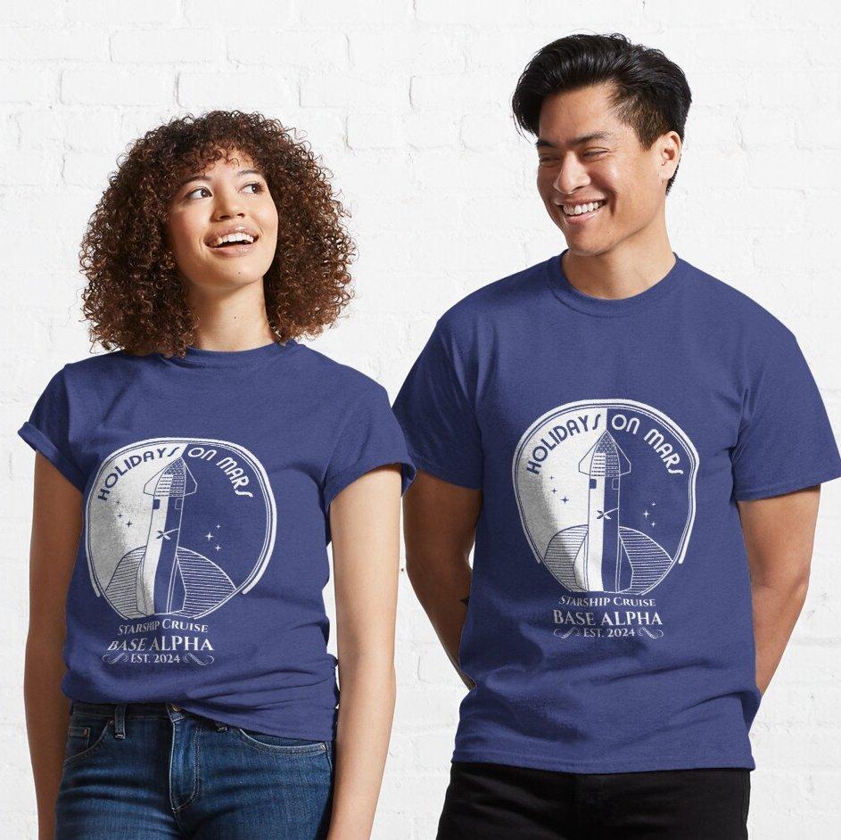 Pásate las vacaciones en Marte con tu camiseta veraniega 😅 https://t.co/VBTsxCred7