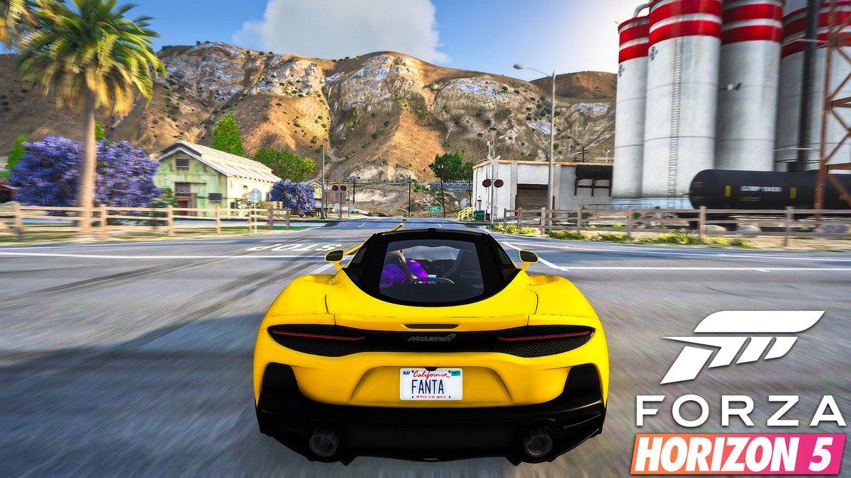 Forza Horizon 5 Graphics  2020 McLaren GT Gameplay! RTX 2080 Ti & i9 10980XE - GTA 5 PC Mod https://youtu.be/YWkcIGT_0Yg . #GTA5 #GTAV #gta5pc #gtavpc #RTX2080ti #pc #nfs #forza #forzahorizon #needforspeed #grandtheftauto #gta6 #naturalvison #NaturalVisionEvolved #ForzaHorizon5pic.twitter.com/6IQtwm8K8B