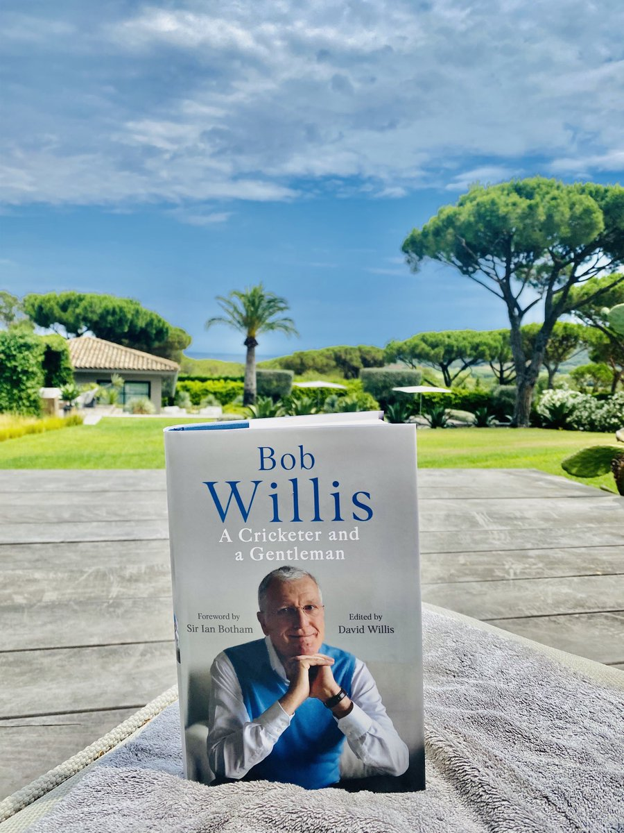 Perfect summer reading.  A fantastic tribute to the late, great Bob Willis, one of my cricketing heroes, edited by his brother David. Such a fascinating & entertaining man on and off the cricket pitch. He loved sport, opinions, wine & Bob Dylan - so we had 3 things in common. 👇 https://t.co/p42j5JZGxd