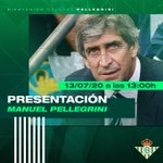 Image for the Tweet beginning: 🗣️ Pellegrini: «El Betis es