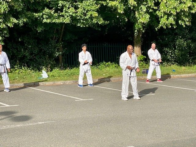 Outdoor training continues! Tudor Grange Leisure Centre Instructors session last week #actionshot #sensei #karate #learning #training #fitness #karatetraining #traininghard #greatcoaching #skillsforlife #87RT #brumisbrill #ATSocialMedia #ATSOPRO #UKSmallBiz #MidlandsHour