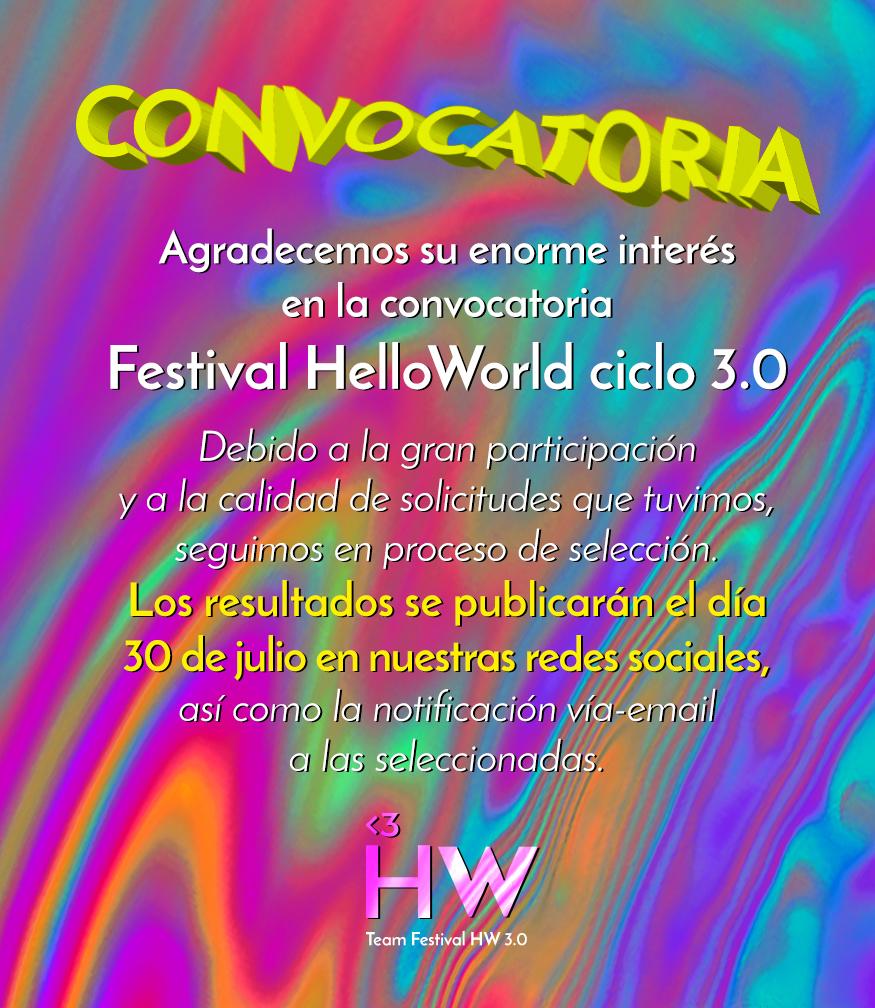 Resultado de imagen de Festival Helloworld 3.0