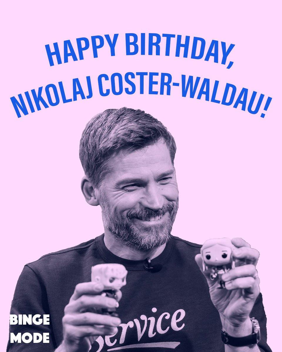 Happy birthday to our very own Kingslayer, Nikolaj Coster-Waldau!