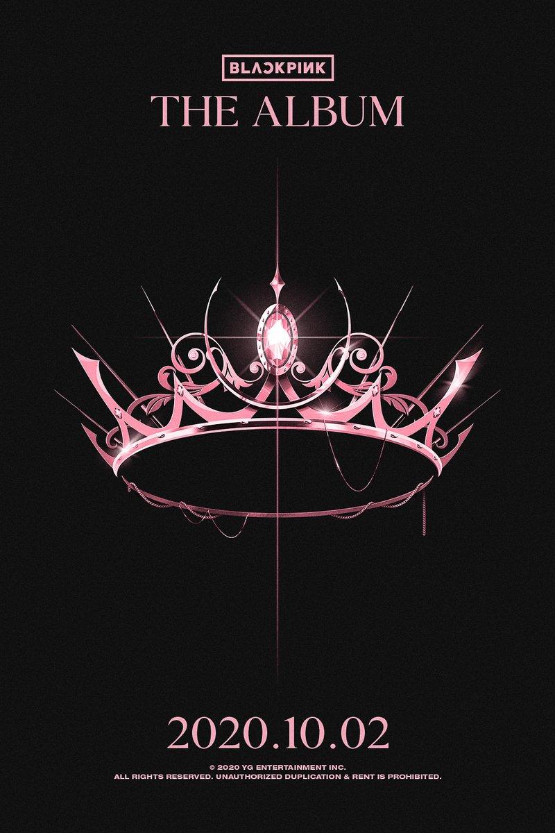 #BLACKPINK THE ALBUM TEASER POSTER The Album ✅2020.10.02 #블랙핑크#JISOO #JENNIE #ROSÉ #LISA #TheAlbum #TeaserPoster #ComingSoon #YG