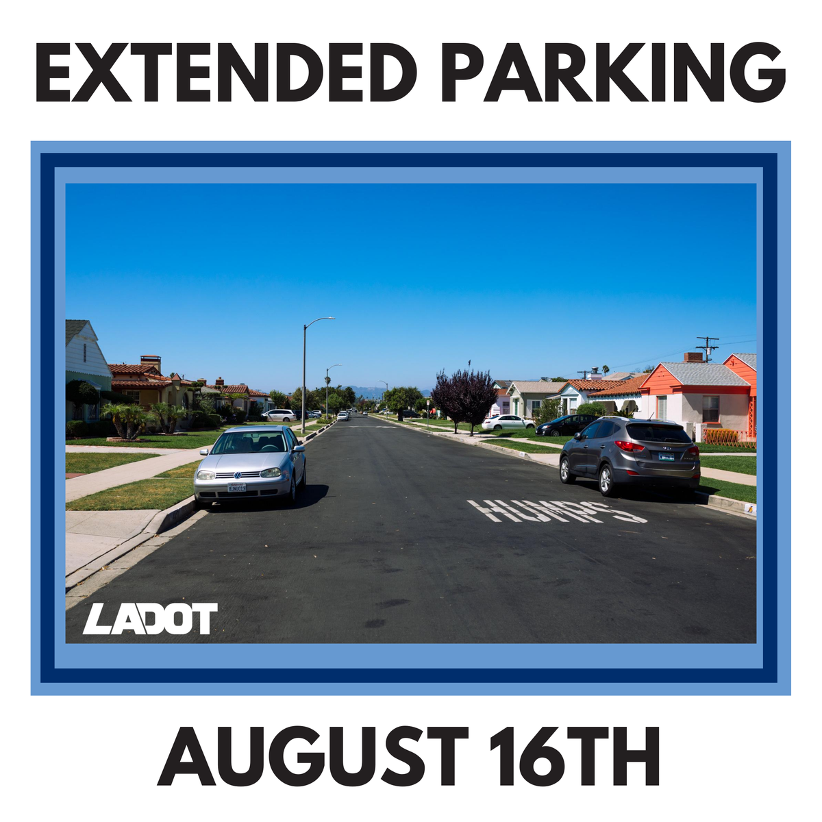 While we continue working together to #flattenthecurve, we have extended our limited relaxed parking regulations until August 16. Learn more here: ladot.lacity.org/coronavirus/la…