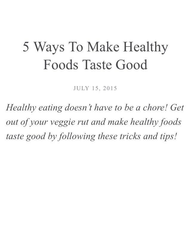 5 ways to eat correctly https://t.co/TwBrRCArzo