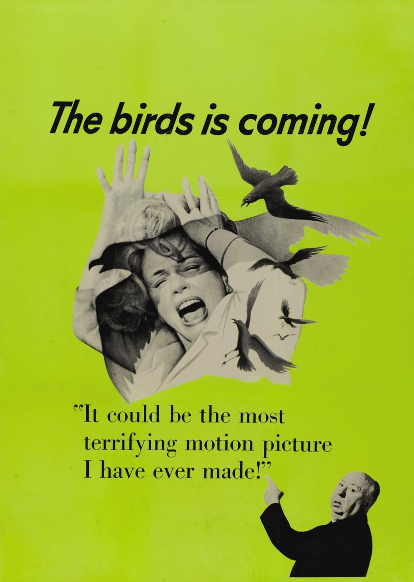 THE BIRDS (1963) by Alfred Hitchcock #thriller pic.twitter.com/YxBoSIAS5m