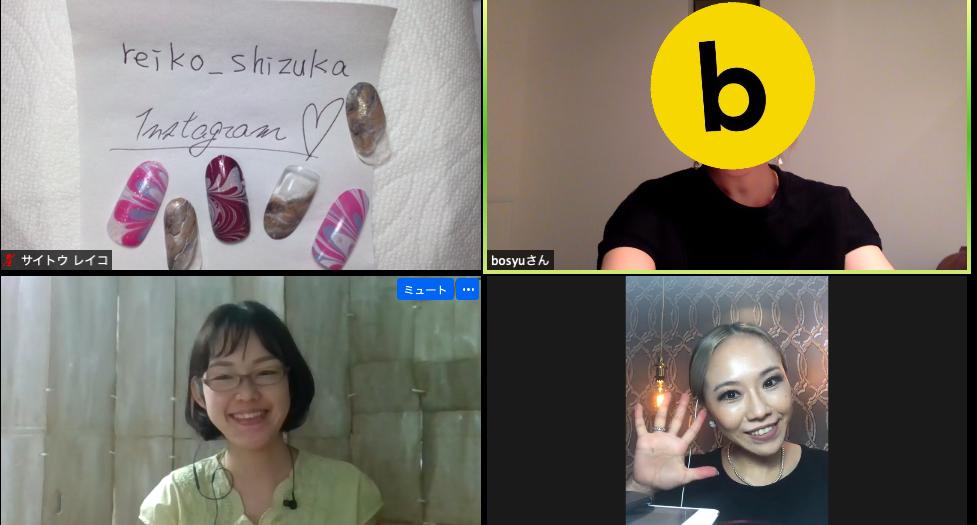 先週火曜は、ネイリストの志塚さんと #bosyu でコラボしてネイル教室!マーブルと大理石調のネイルを実践しながら、細部までくわしく教えてもらいました💅個別の質問もできて大満足。(志塚さんの新サービス↓のインスタにこの日のアート動画もあるので復習する💫)