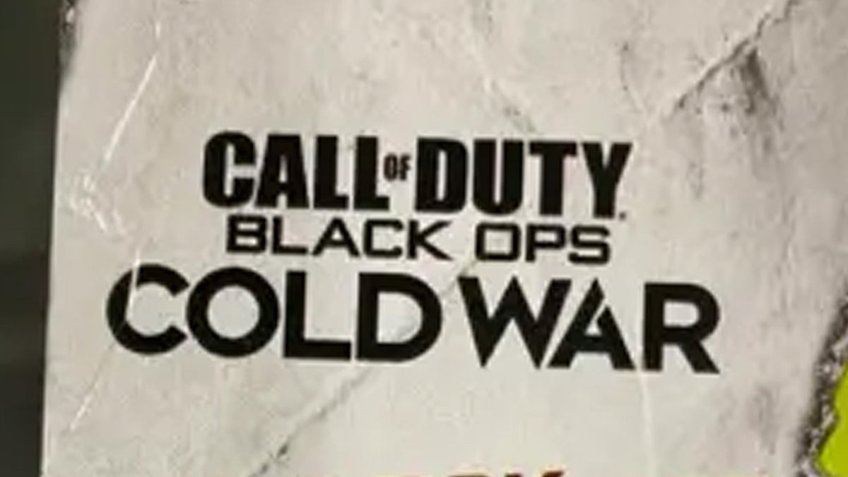 Pressstartaustralia On Twitter The Call Of Duty Black Ops Cold War Logo Looks To Have Leaked On A Dorito Packet Https T Co Fpbwdicsut