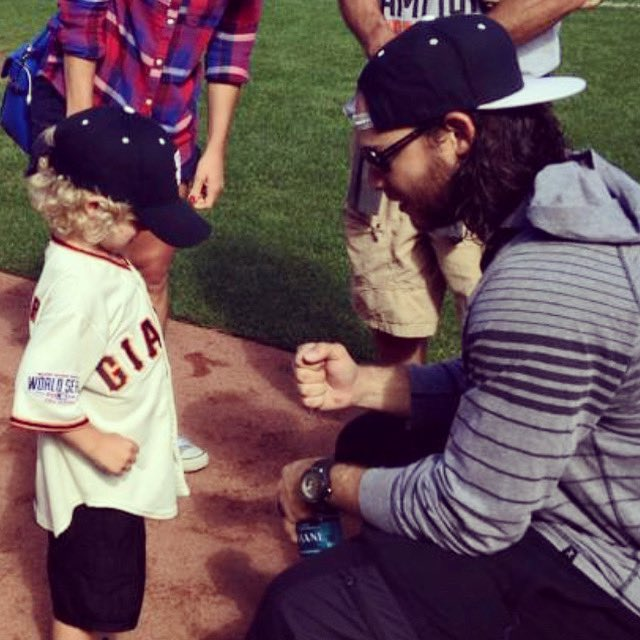 @bcraw35 he's 5yrs cancer free now and his hair is longer than yours haha!! ❤️ Will forever be grateful for you being his inspiration https://t.co/w6Uf1xdlRi