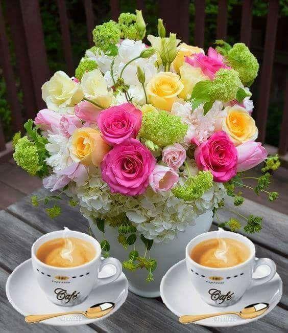 еще цветы картинки с добрым утром дружище друг своем