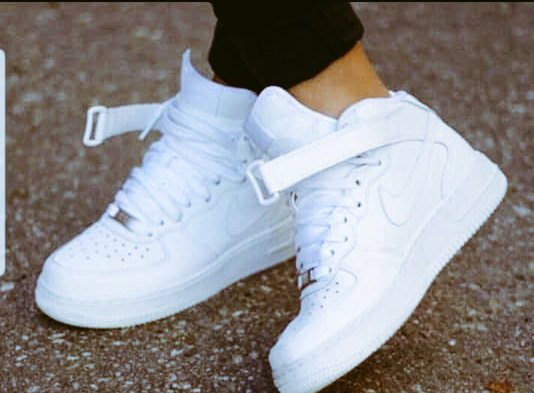 Dandy Outfits On Twitter All White High Top Airforce 1 Size 36