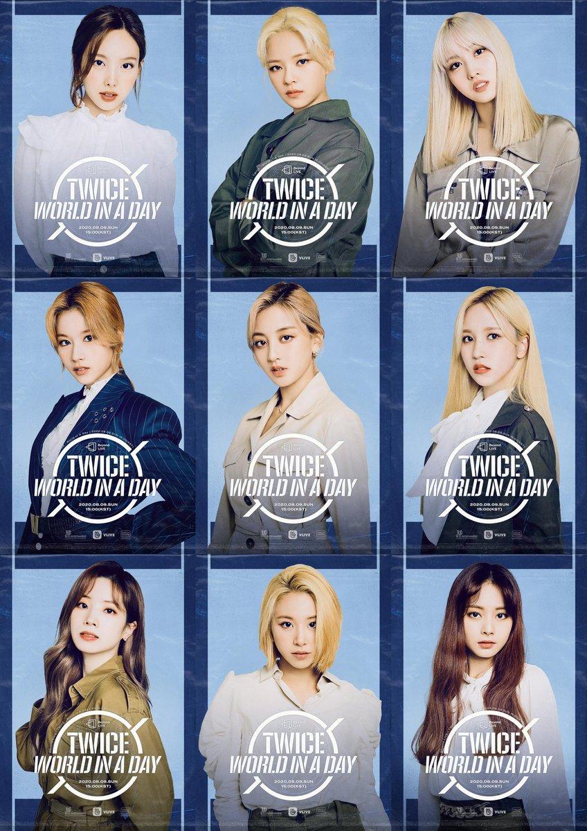 Poster Twice Tulisan