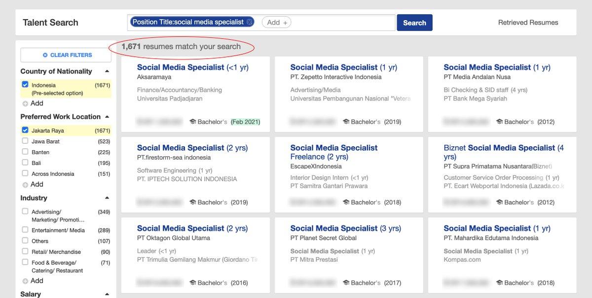 Thread By Mas Recruiter Tips Trik Agar Profile Dan Cv Dilirik Serta Diproses Oleh Recruiter Atau Headhunter Ga Cuma Kita Yang Cari Kerja Tapi Kerjaan Lah Tipsmase Thread Readers