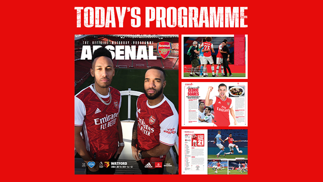 🚨Digital version of #ARSWAT programme now available to download 🚨 arsn.al/abHMghS 🔴⚪️ With fans unable to attend the game, weve decided to make this issue FREE 🙏 We do however encourage a donation to @AFC_Foundation if at all possible. Thanks!