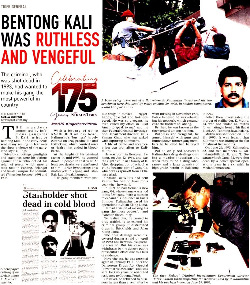 """Satria Siber on Twitter: """"RT PDRMsia: KERATAN AKHBAR PILIHAN: BENTONG KALI  WAS RUTHLESS AND VENGEFUL Read further on the attached link,  https://t.co/YgouRfdDbc Sumber: New Straits Times https://t.co/r7HKq0Hbho"""""""