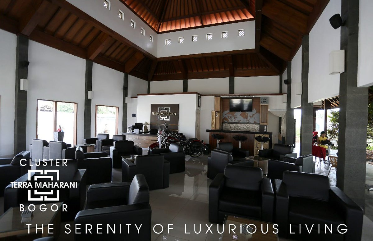Kami ciptakan gedung serbaguna untuk memudahkan anda berinteraksi dengan nyaman.  Terra Maharani  The Serenity of Luxurious Living  +62-87778887776  #rumah #rumahdijual #rumahminimalis #bogor #cluster #rumah123 #visitbogor #kotabogor #terramaharani #clusterbogor #rumahcom https://t.co/Py6oqEKXqP
