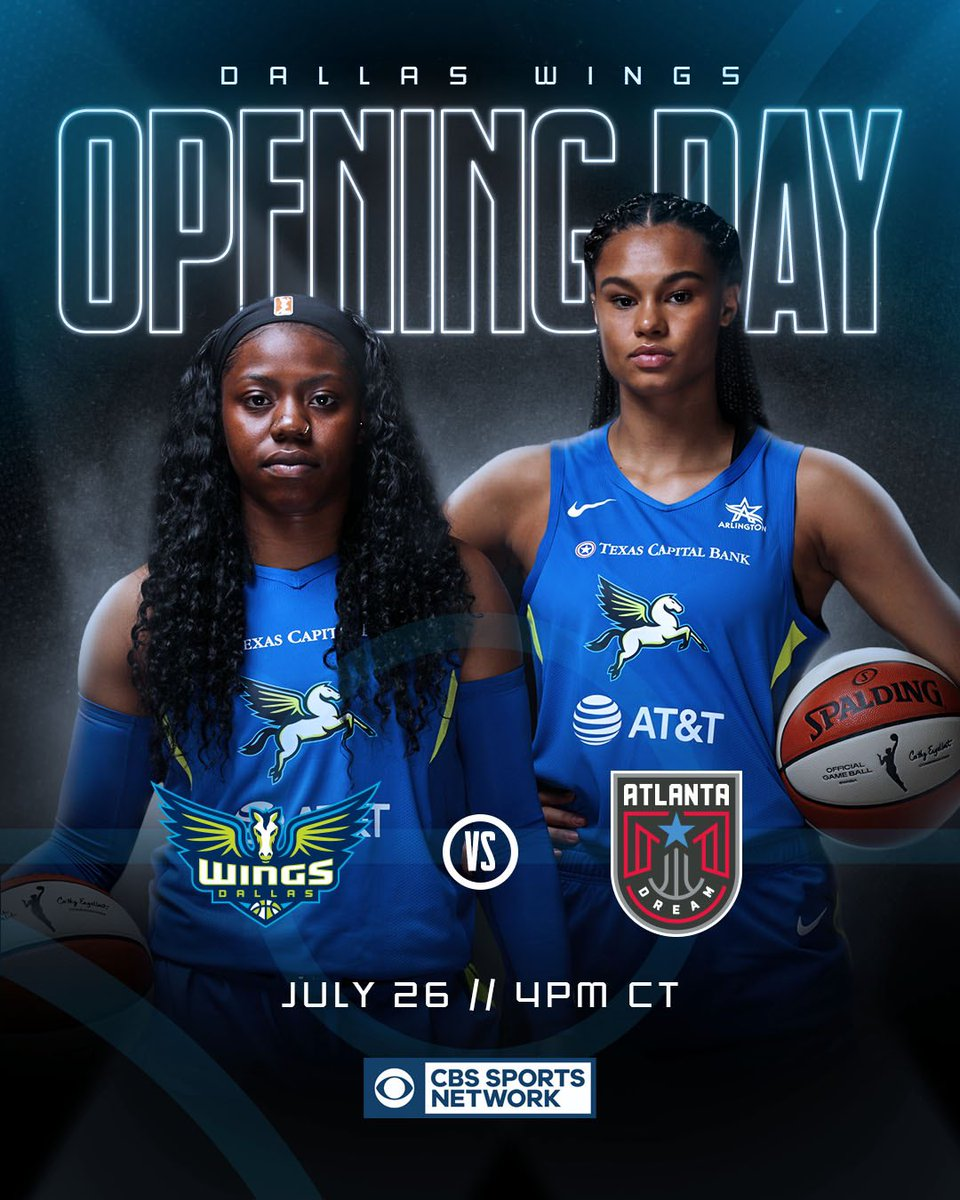 GAMEDAY is back! 🙌🏀✨  🆚 @AtlantaDream  ⏰ 4 pm CT  📺 @CBSSportsNet   #RISE https://t.co/oouCF6RIeZ