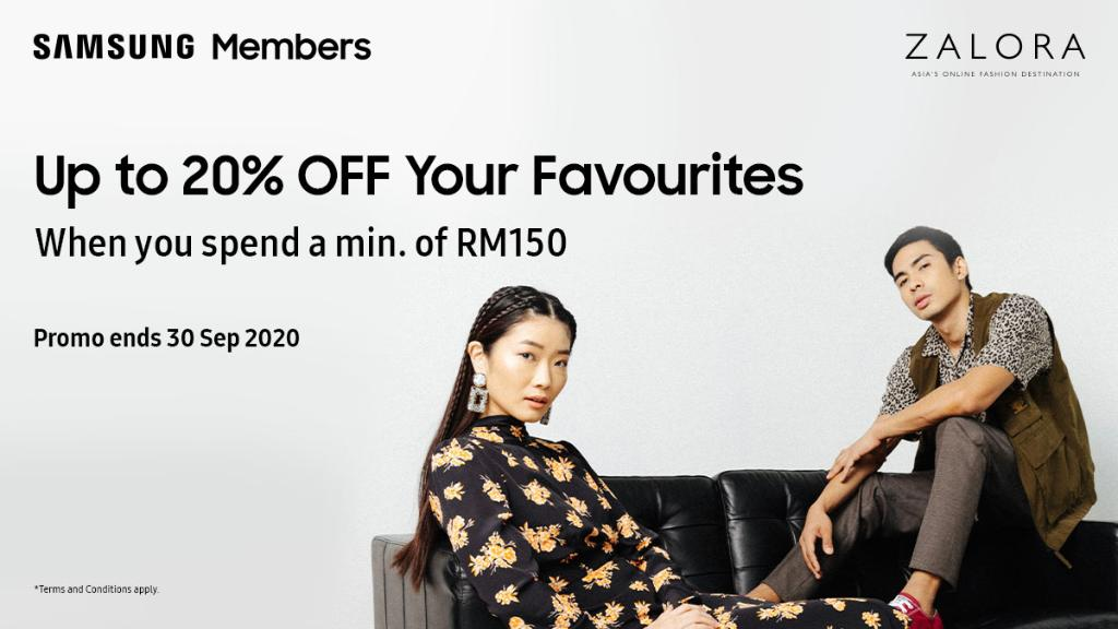 Samsung Malaysia On Twitter Hold Your Zalora Cart Right There Redeem This 20 Off Promo Code With A Minimum Spend Of Rm150 At Zalora S Big Fashion Sale Before You Checkout Promo Ends