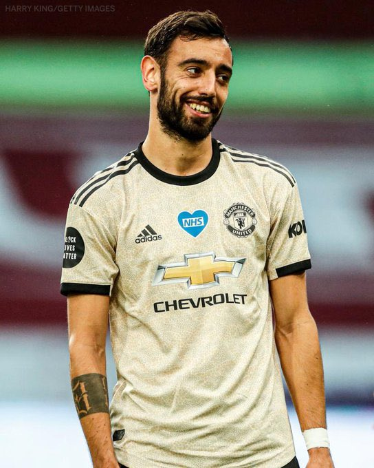COMPETITION: If Bruno Fernandes scores first against Leicester today, we'll giveaway a brand new 2020/21 kit. 😍  Either: 🇫🇷 PSG home 🇮🇹 Inter home 🇩🇪 Dortmund home  You choose. 👀  Simply RT and follow this account to enter. ✅🔁 https://t.co/R1QSFm61a1
