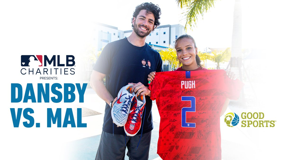 Today is the last day to enter the #DasnbyVsMal sweepstakes. Thank you to @MLB, @LieutenantDans7 and @MalPugh for being on our team and helping raise funds for kids in need that just want to play sports again. Enter Here: atmlb.com/30dFMYD