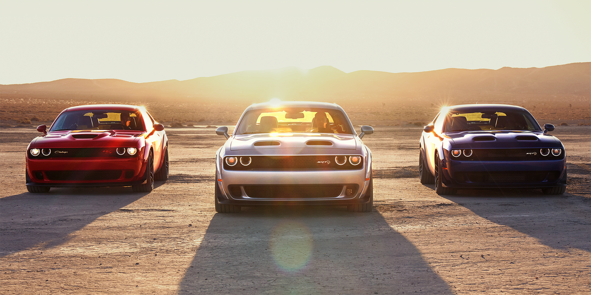 Choose your chariot. Tag your friends before they tag you. #ThatsMyDodge #DodgeChallenger https://t.co/xovCacBnlX