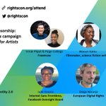 Image for the Tweet beginning: The first-ever RightsCon online summit