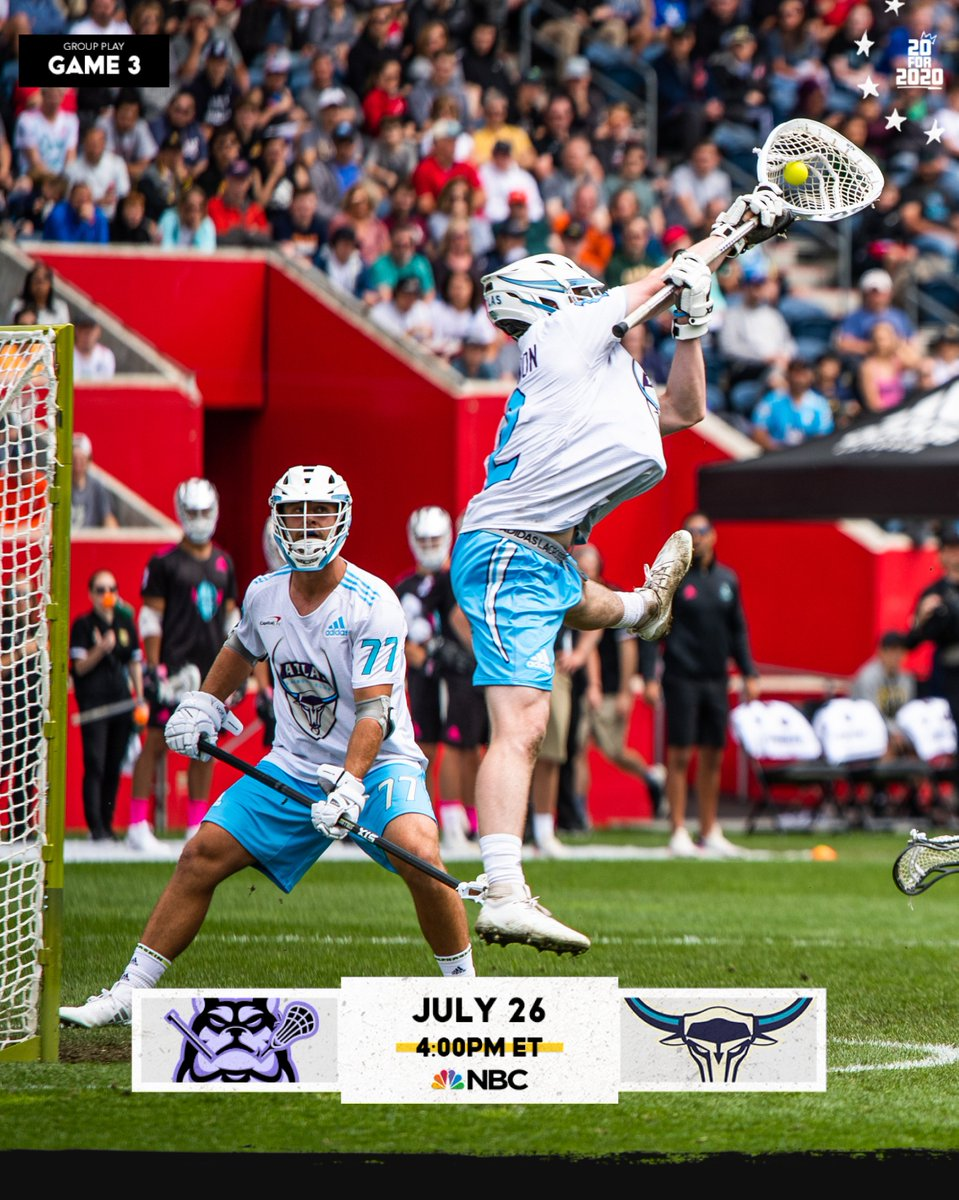 Only one @PremierLacrosse game today, but it's got 3⃣ members of the #HofstraFamily!   Watch @_JConcannon_ and #KevinUnterstein of @PLLAtlas take on @stevedenap7 and @PLLWaterdogs at 4pm on @NBCSports  #RoarWithPride https://t.co/hZHpCTbDJo